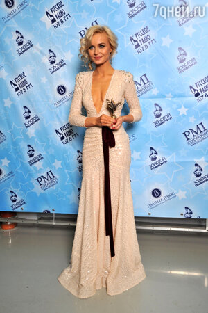 Полина Гагарина на церемонии «Золотой граммофон-2012»
