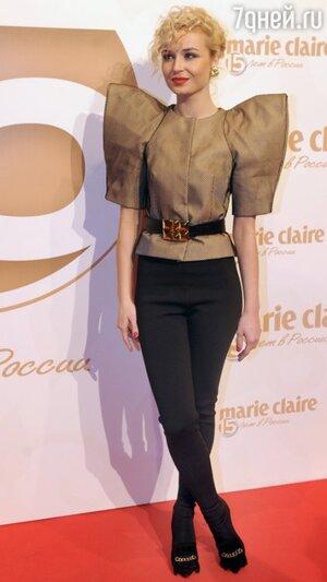 Полина Гагарина на вечеринке журнала Marie Claire в 2012 году