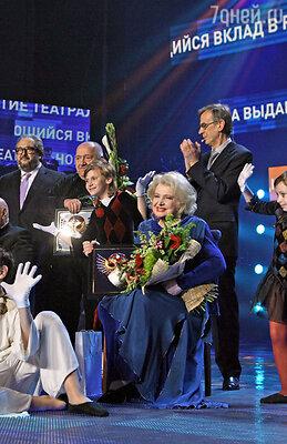 Церемония вручения премии «Золотая маска» в театре им. Станиславского и Немировича-Данченко