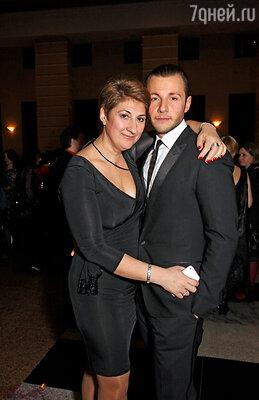 Нина Чусова и Вячеслав Манучаров