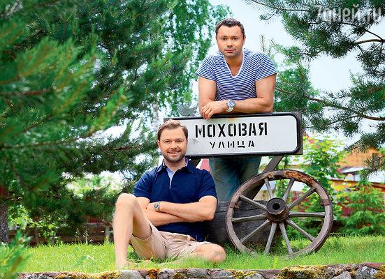 Братья-актеры Андрей и Илья Носковы