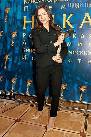 Елена Лядова на кинопремии «Ника»