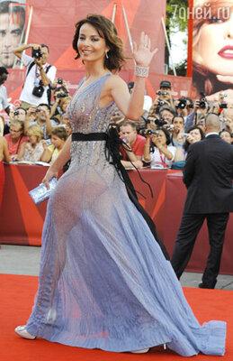 Виоланте Плачидо  (платье Alberta Ferretti)