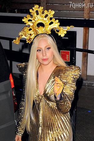 Леди Гага в Лондоне. 2013 г.