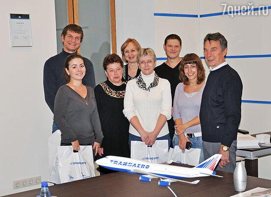 5 октября в главном офисе «Трансаэро» в Москве собрались номинанты на получение главного приза