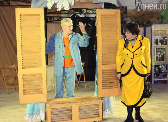 Мария Аронова и Борис Щербаков представили гостям спектакль «Свободная пара»