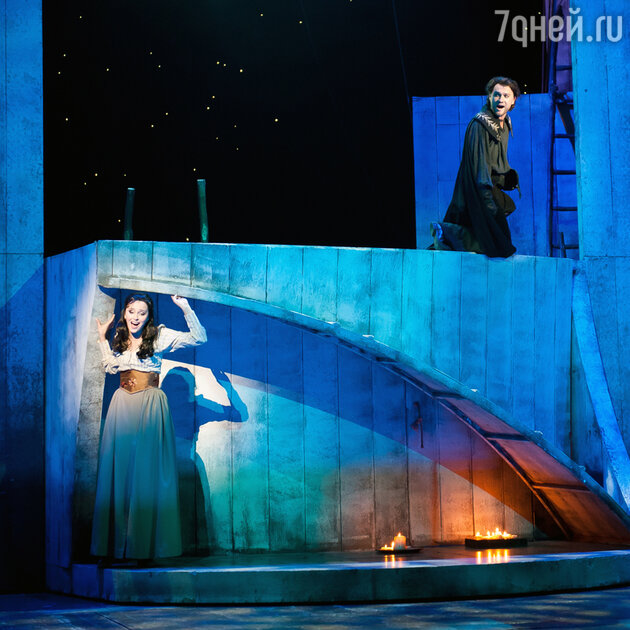 Наталия Быстрова в мюзикле Zorro