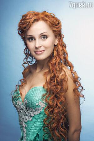 Наталия Быстрова в мюзикле «Русалочка»