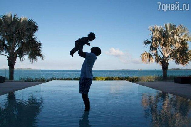 Джей Зи с дочкой