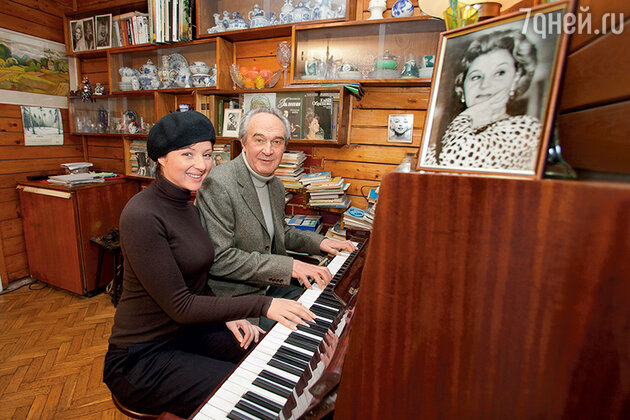 Анна Банщикова с дедушой