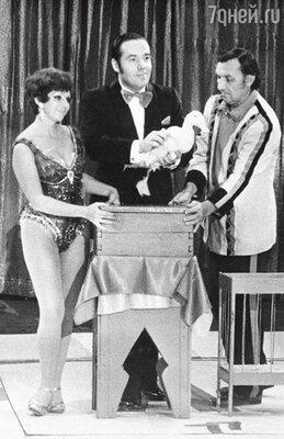 Иоланта и Игорь на гастролях в Америке. 1967 г.