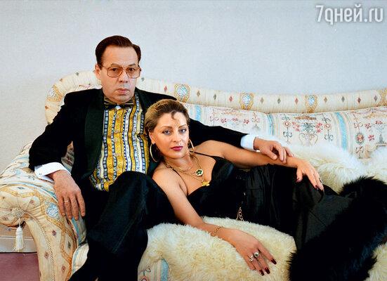 Игорь Кио с последней женой — Викторией