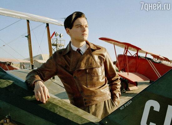 В роли Говарда Хьюза. «Авиатор», 2004 год