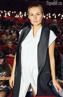 Мария Кожевникова на премьере фильма «Сталинград»