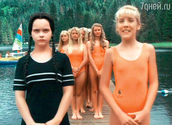 11-летняя Кристина Риччи в фильме «Семейка Аддамс». 1991 г.