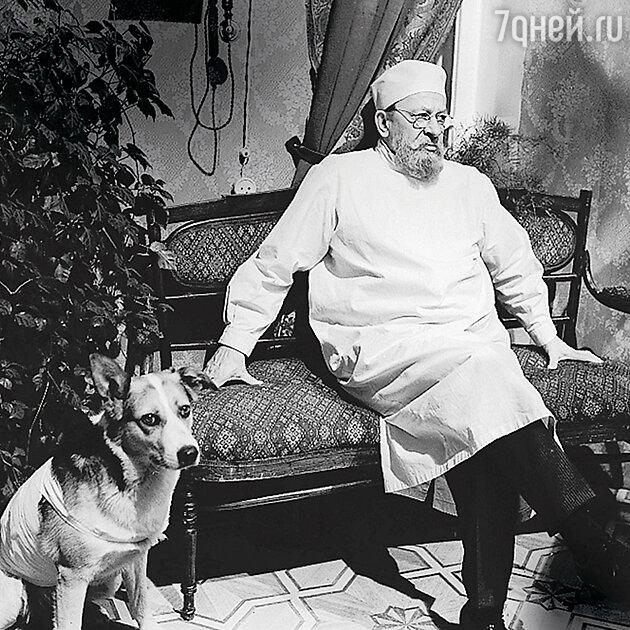Евгений Евстигнеев с фильме «Собачье сердце».1988 г.