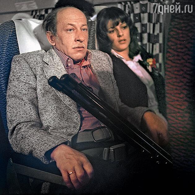 Евгений Евстигнеев в фильме «Невероятные приключения итальянцев в России». 1973 г.