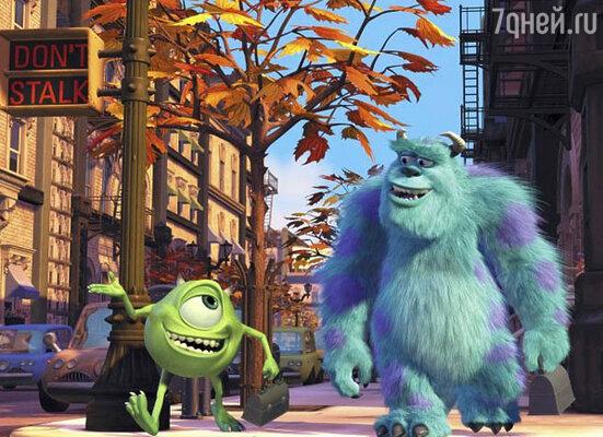 Кадр из мультфильма «Корпорация монстров»