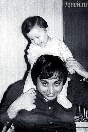 Валерий Фокин с сыном