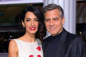 Джордж Клуни впервые прокомментировал беременность Амаль