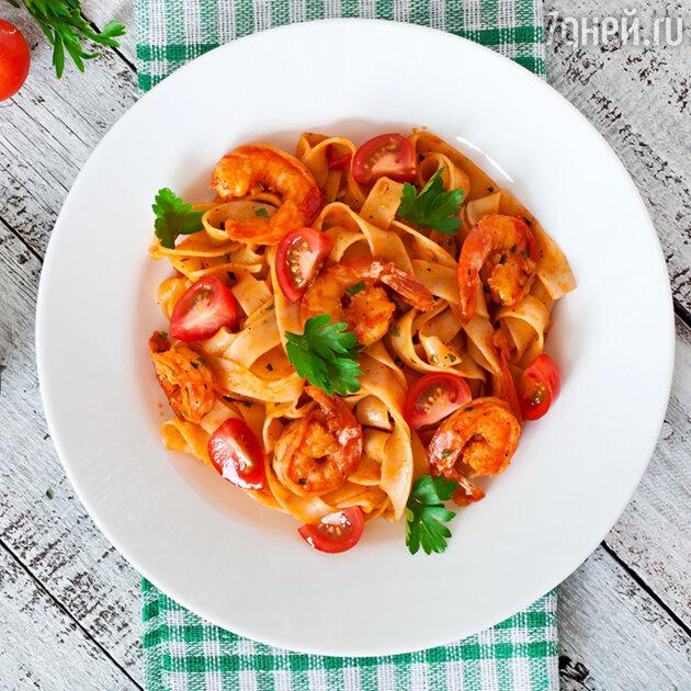 Паста с креветками и помидорами: рецепт от шеф-повара Гордона Рамзи