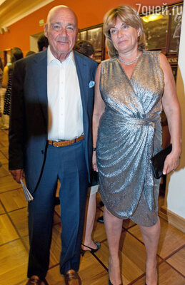 Владимир Познер с женой Надеждой
