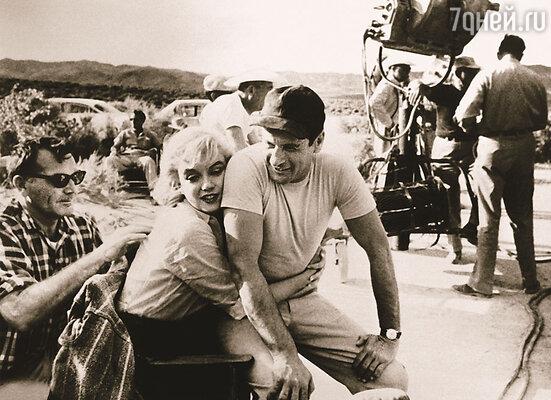 В «Неприкаянных» Эли снялся с Мэрилин Монро. Они подружились еще 6 лет назад — тогда Мэрилин охотно присматривала за его детьми