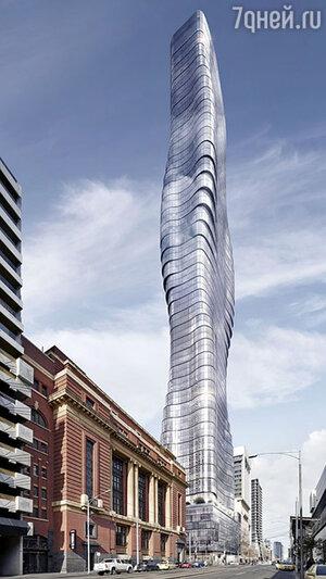 Австралийская компания Elenberg Fraser  построит небоскреб, вдохновленный изгибами тела Бейонсе