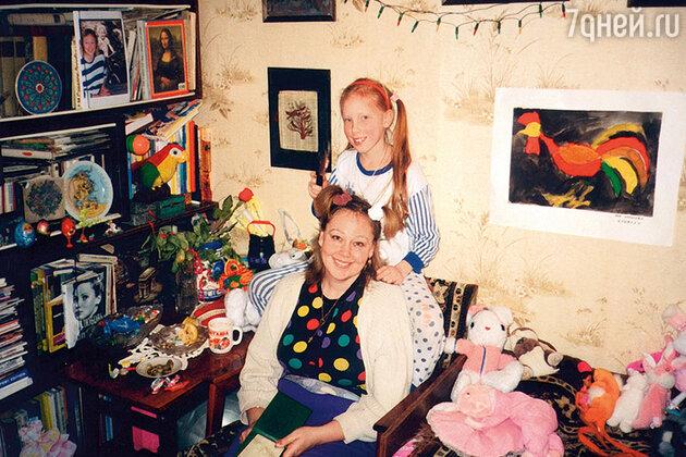 Наталья Хорохорина с дочерью