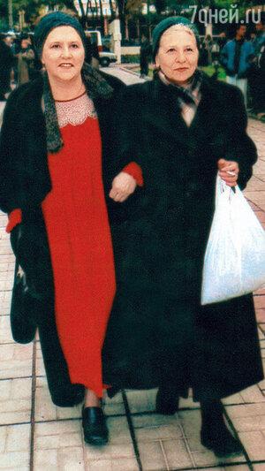 Нонна и Наталья Мордюковы