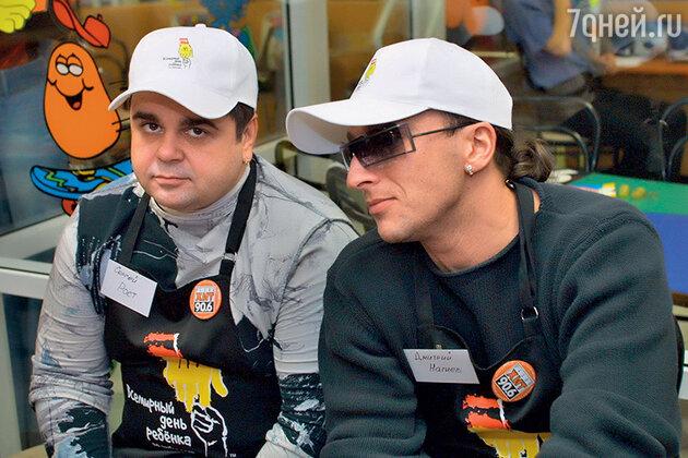 Дмитрий Нагиев и Сергей Рост