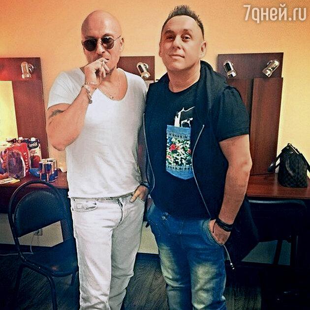 Дмитрий Нагиев и Виктор Бондарюк
