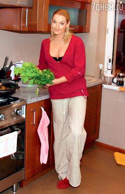 Анастасия Волочкова за тридня может похудеть натрикилограмма