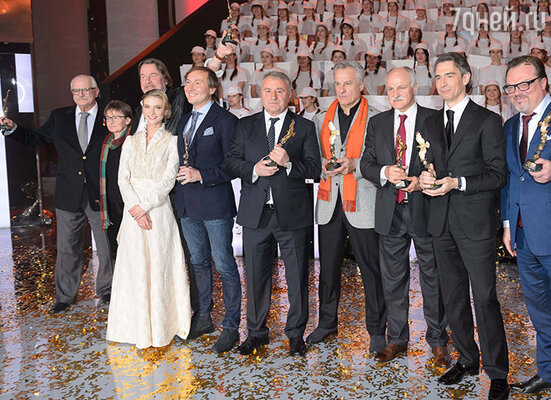 Лауреаты 2014 года на XII Торжественной церемонии вручения Национальной Премии в области кинематографии «Золотой Орел»