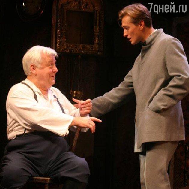 Сергей Безруков и Олег Табаков