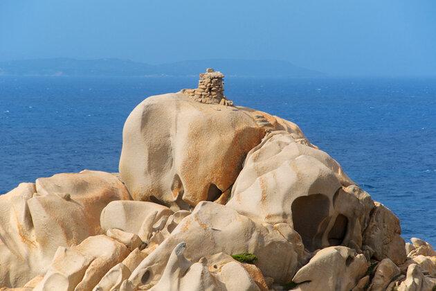 Нураг на мысе Капо Теста, Сардиния