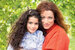 Алена Хмельницкая с младшей дочерью