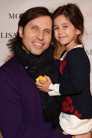 Александр Ревва  с дочкой  Алисой