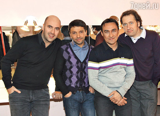 «Квартет И» (слева направо): Ростислав Хаит, Леонид Барац, Камиль Ларин и Александр Демидов