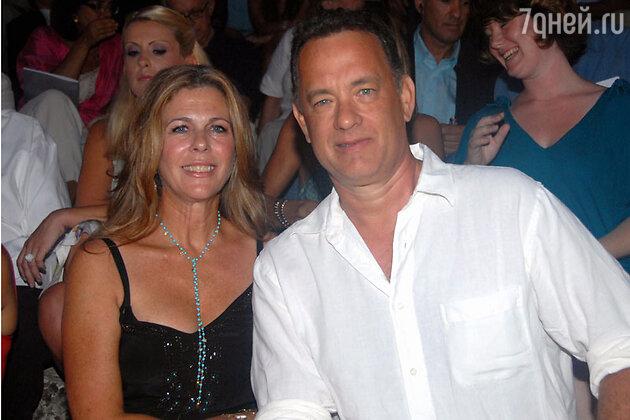 ��� ����� (Tom Hanks) ��� 26 ��� ����� � ���������� ����� � �������� ����� ������ (Rita Wilson)