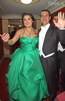Анна Нетребко и Эрвин Шротт. Вена, 2011 г.