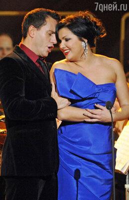 Анна и Эрвин на концерте вСанкт-Петербурге. 2010 г.
