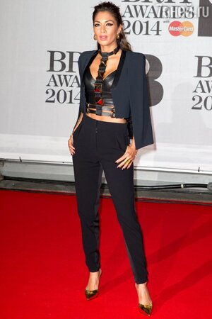 Николь Шерзингер на церемонии BRIT Awards-2014