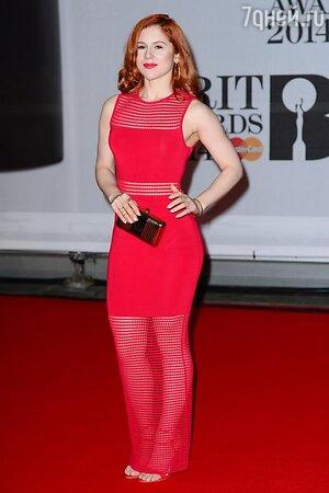 Кэти Би в платье от Ronny Kobo на церемонии BRIT Awards-2014