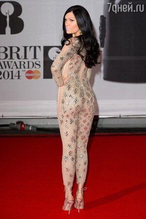 Джесси Джей в наряде от Julien Macdonald на церемонии BRIT Awards-2014