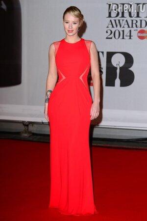 Игги Азалия в платье от Eile Saab на церемонии BRIT Awards-2014
