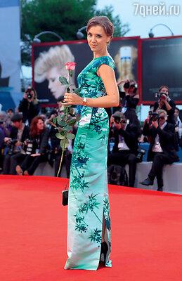 На 69-м Международном венецианском кинофестивале. 2012 г.