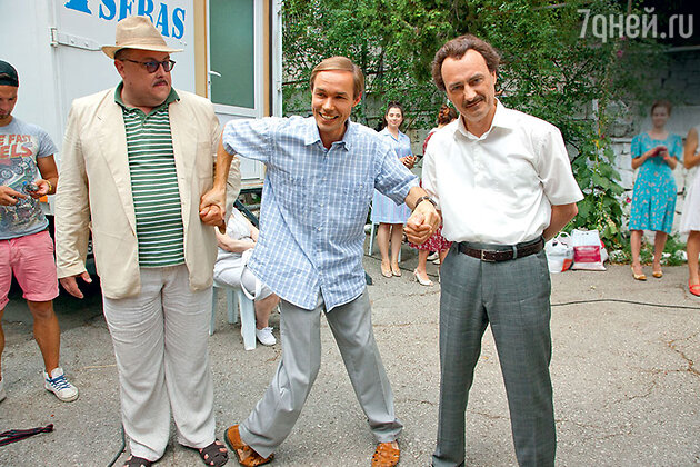 Алексей Колган, Евгений Павлов и Алексей Агопьян
