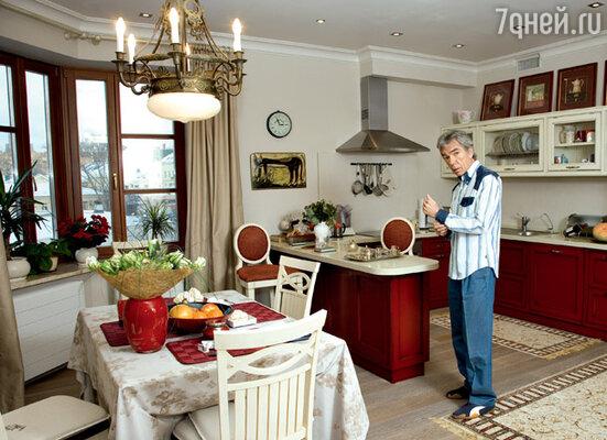 Ковры на кухне Николаева спасают пол из беленого дуба