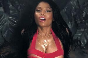 Ники Минаж выпустила сексуальный клип на песню «Anaconda»